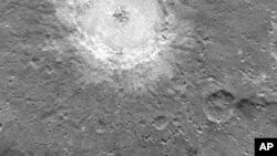 ناسا کی تصویر میں برف کی نشاندہی