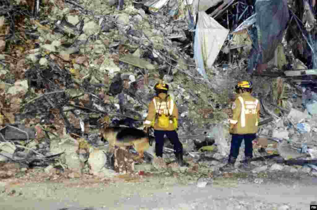 В результате столкновения образовались горы обломков. Спасателя потребовалось двое суток, чтобы найти всех погибших и раненых