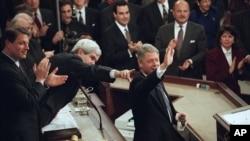 ბილ კლინტონი, 24 იანვარი, 1995 წელი.