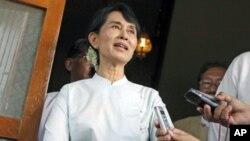 Lãnh tụ đấu tranh cho dân chủ Miến Điện Aung San Suu Kyi
