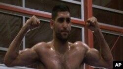 عامر خان واشنگٹن میں مقابلے کے لیے تیار