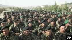 بیشتر از یک هزار عسکر اردوی ملی افغان در هرات سند فراغت گرفتند