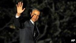 Tổng thống Mỹ Barack Obama tại Toà Bạch Ốc, Washington, 19/3/2013