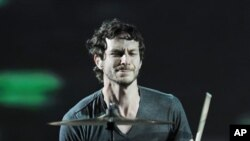 Gotye performs on Oct. 7, 2012. in Miami.