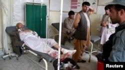 Աֆղանստանի Քունդուզ նահանգում ինքնասպանի հարձակման հեևտանքով վնասվածքներ ստացած խաղաղ բնակիչ, 30 օգոստոսի 2013թ.