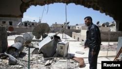 El ataque químico en Siria mató a unas 100 personas.