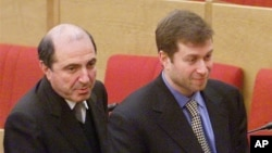 Борис Березовский и Роман Абрамович