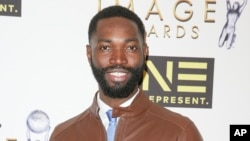 Tarell Alvin McCraney arrives at the 48th NAACP Image Awards Nominees' Luncheon at the Loews Hollywood Hotel, Jan. 28, 2017.