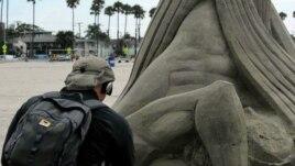 Festival i skulpturës në rërë