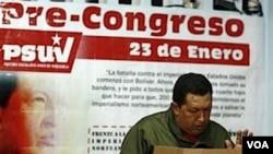 """""""Cuando se trata de soberanía nosotros no discutimos nada, la soberanía no se discute"""", dijo Chávez."""