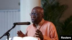 Ex vice-presidente da FIFA Jack Warner