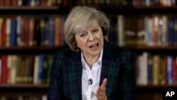 Mendagri Theresa May muncul sebagai salah satu calon terkuat untuk menggantikan PM Inggris David Cameron (foto: dok).