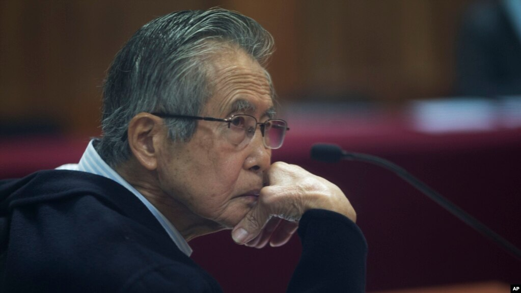 Resultado de imagen para Expresidente peruano alberto fujimori
