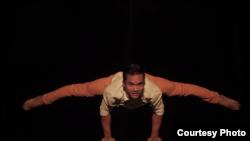 Bou Ratha, circus artist of Kampuchea Phare Circus. (Image provided)