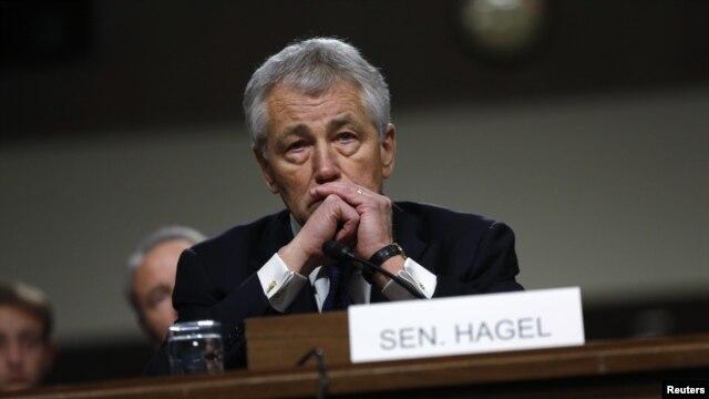 Cựu Thượng nghị sĩ Chuck Hagel, một cựu quân nhân trong chiến tranh Việt Nam.