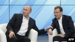 Putin saylov kampaniyasi Medvedevdan norozi