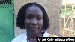 Demba Karyom, syndicaliste et activiste, 9 décembre 2019. (VOA/André Kodmadjingar).