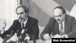 Əbülfəz Elçibəy və Nəcəf Nəcəfov