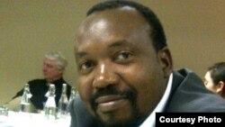 Daniel Molokoele of the Zimbabwe Global Forum. (Photo: Daniel Molokoele Facebook Page)