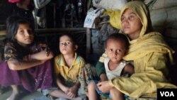 حبیبه ۳۲ ساله مدعی است که نظامیان برمایی در جریان عملیات راخین بر وی تجاوز جنسی کرده اند