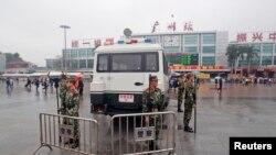 廣州火車站(資料圖片)