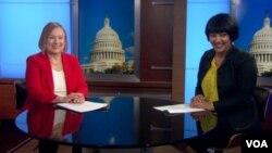 VOA Director Amanda Bennett and VOA Reporter Salem Solomon Discuss Press Freedom