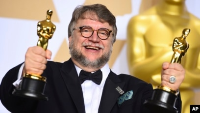 latinos grab oscars spotlight and hope to hold it rh voanews com Pan's Labyrinth Oscars Guillermo Del Toro Brother