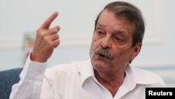 Cuban Deputy Foreign Minister Abelardo Moreno speaks during a news conference in Havana, Cuba, Aug. 1, 2016.