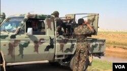 Şervanên YPG li nêzî Girêspî (Arşîv)