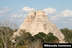 The ancient Mayan city of Uxmal. Courtesy Alastair Rea
