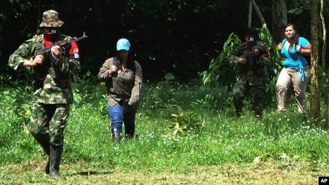 El año pasado el ELN secuestró a dos trabajadoras de un oleoducto en Saravena, en el norte de Colombia.
