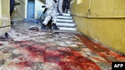 Ulaz u napadnuti hotel Muna u Mogadišu