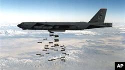 미국 폭격기. (자료사진)