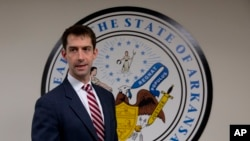 Sen. Tom Cotton, R-Ark. (FILE PHOTO)