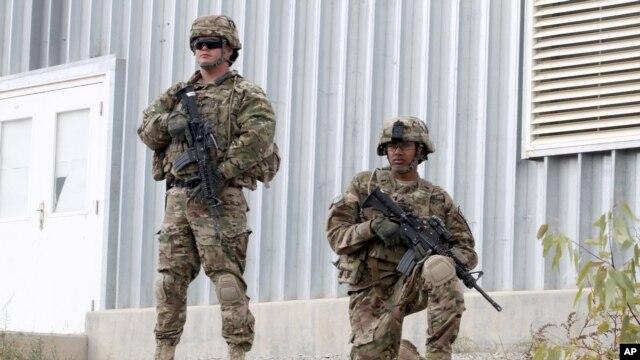 아프가니스탄 주둔 나토군. (자료사진)