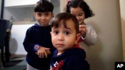 叙利亚小难民