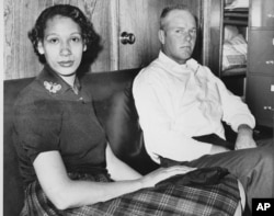 Mildred Loving and her husband, Richard Loving, are shown in this January 26, 1965 file photograph. (AP Photo)