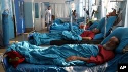 مجروحان حملۀ کابل