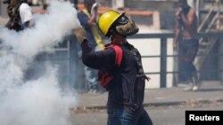 El independiente Observatorio de Conflictividad Social dijo que 16 personas murieron el miércoles 23 de enero de 2019 durante las protestas contra Nicolás Maduro, cuyo segundo mandato asumido el pasado 10 de enero avivó la crisis política que vive la nación.