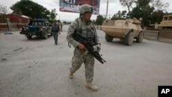 美国士兵在阿富汗