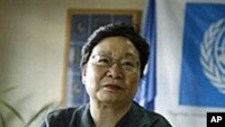 U.N. Assistant Secretary General for Humanitarian Affairs Catherine Bragg (file photo)