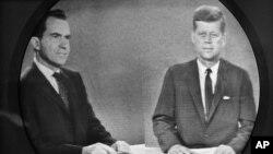 1960-yil: Respublikachi Richard Nikson va demokrat jon Kennedi prezidentlik uchun teledebatda