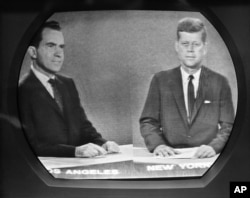 Viewers believed Kennedy won the televised debate against Nixon. Those who heard it on the radio believed Nixon had won.