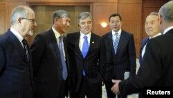 Bishkek sammitida, 23-avgust, 2012