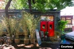 北京雙城咖啡廳外觀(賴正哲提供)
