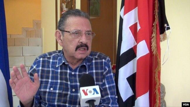 El diputado oficialista Jacinto Suárez habla con la Voz de América sobre las denuncias contra el presidente Daniel Ortega. Octubre 8, 2018.