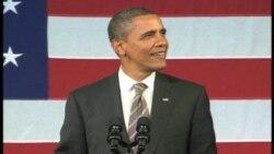视频报道:奥巴马总统在筹款活动上展歌喉