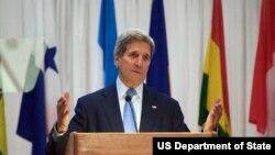 美国国务卿克里(图片来源:美国国务院)