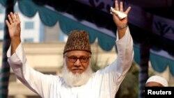 Moulana Motiur Rahman Nizami, yari arongoye umugambwe witwa Jamaat-e-Islami, muri Bangladesh
