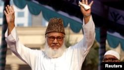 مطیع الرحمان نظامی، رهبر ۷۳ ساله حزب جماعت اسلامی.